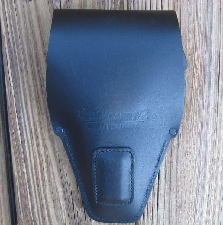 Back of G2 Holster with Strong Rare Earth Magnet to Hold Gun in Place Inside of Holster