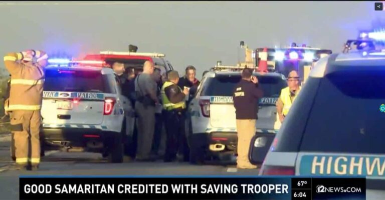 Arizona Trooper's Life Saved By Armed Citizen