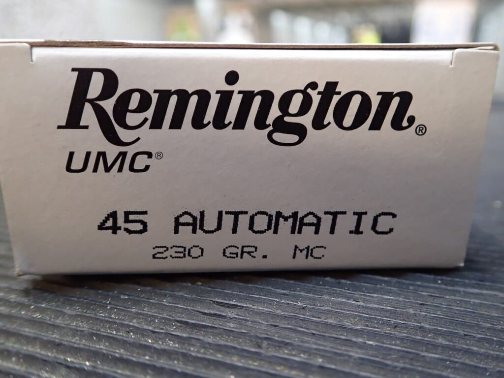 Walther PPQ 45 ACP Remington Ammo