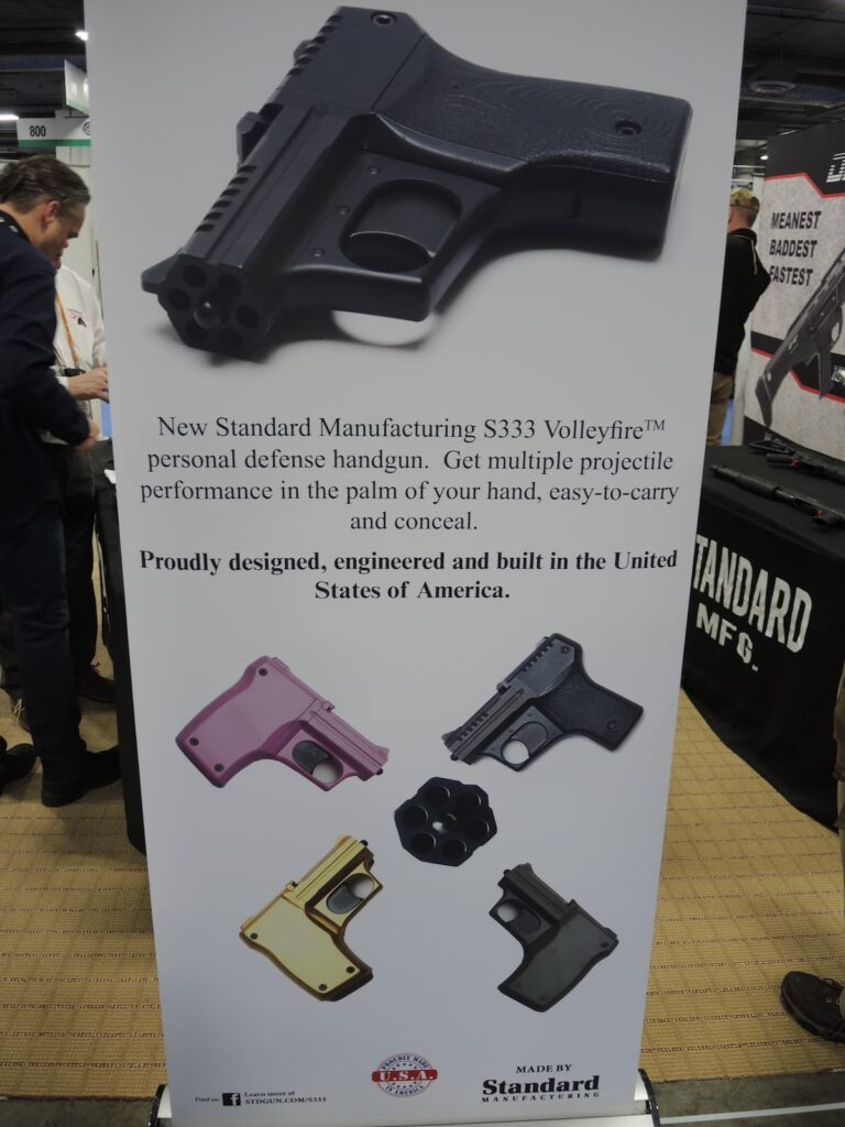 Standard Manufacturing - S333 Volley Fire Pistol