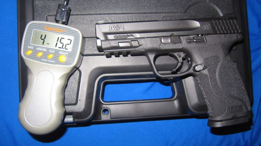 S&W M&P M2.0 9mm Trigger Press and Gauge