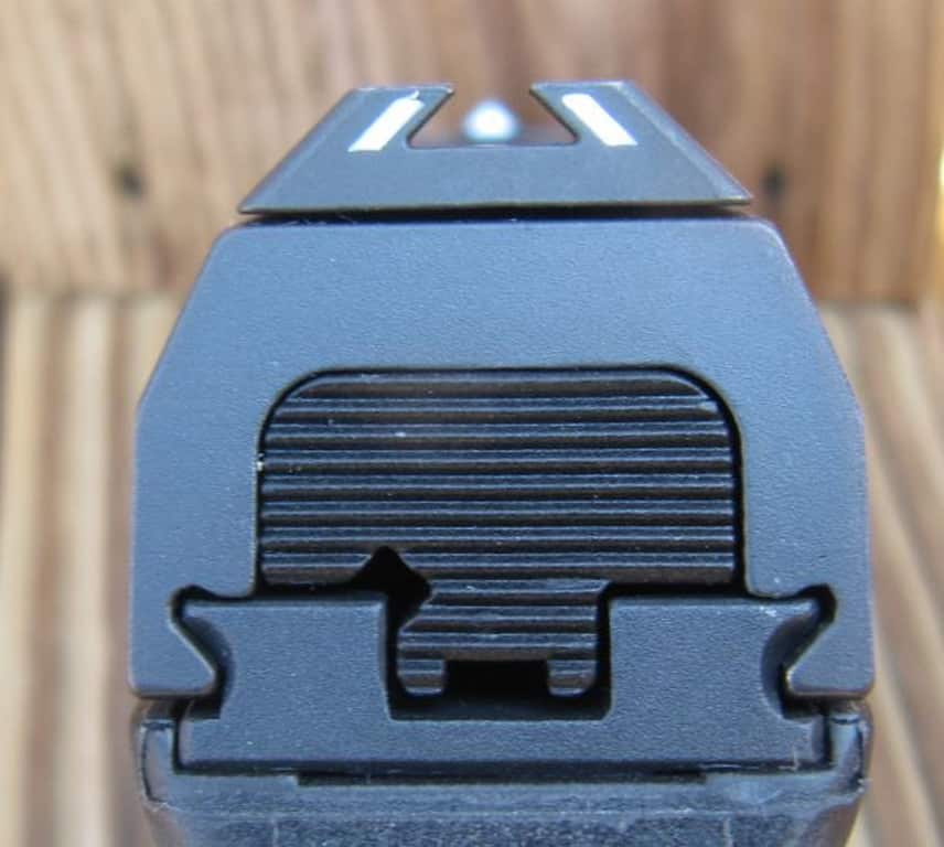 Steyr C9-A1 Trapezoidal Sights
