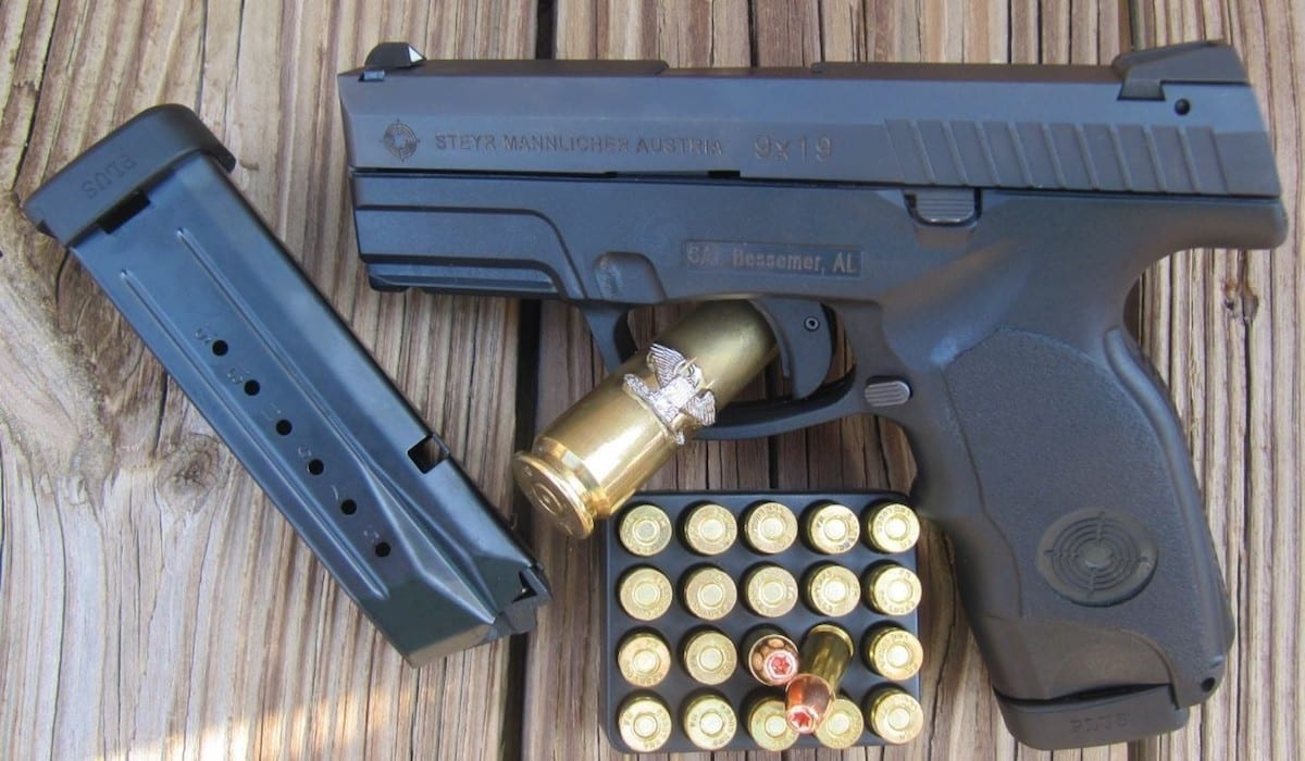 Steyr C9-A1 9mm [FIREARM REVIEW]
