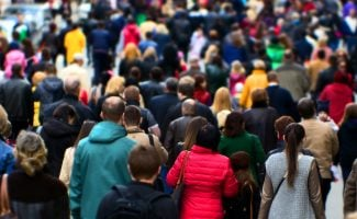 Blending In With The Crowd - Using People As Camouflage