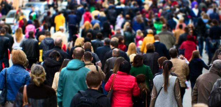 Blending In With The Crowd – Using People As Camouflage