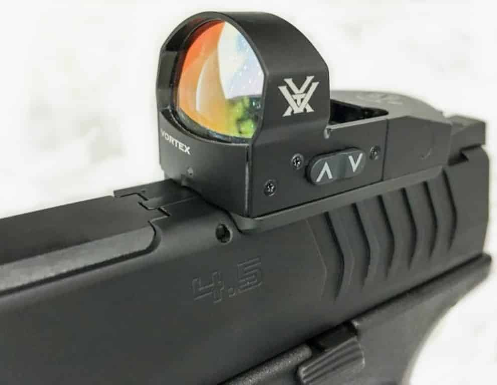 Springfield XD(M) OPS 9mm Pistol Package with Vortex Venom Red Dot Sight Attached