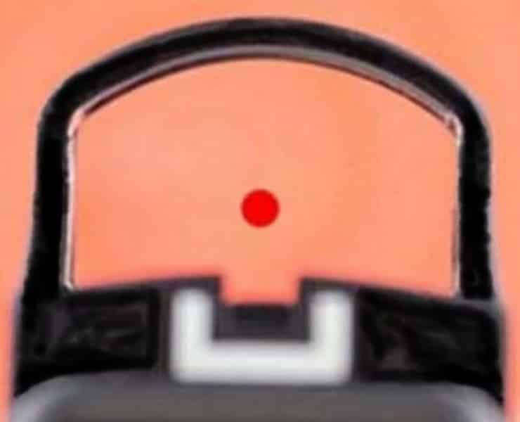 Best-Red Dot Sight Picture