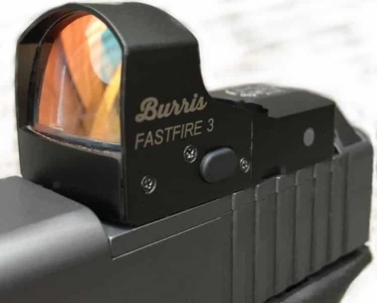 Burris Fastfire 3 Red Dot Sights-on Pistol