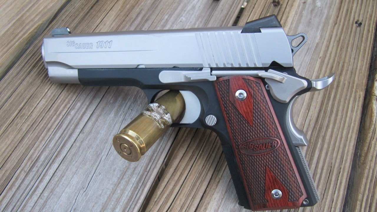 Sig Sauer 1911 C3 [FIREARM REVIEW]