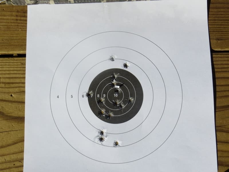 15 Target Hits from 10 Yards- Fast-Fire with HK P30 LEM Version 1 9mm