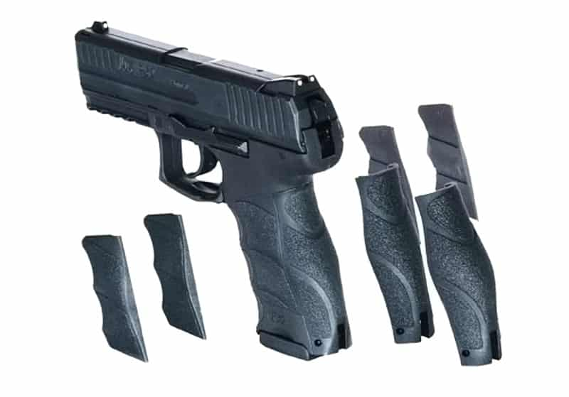 HK P30 and Interchangeable Backstraps and Side Panels