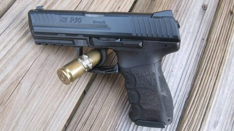 Heckler & Koch P30 V1 9MM [FIREARM REVIEW]