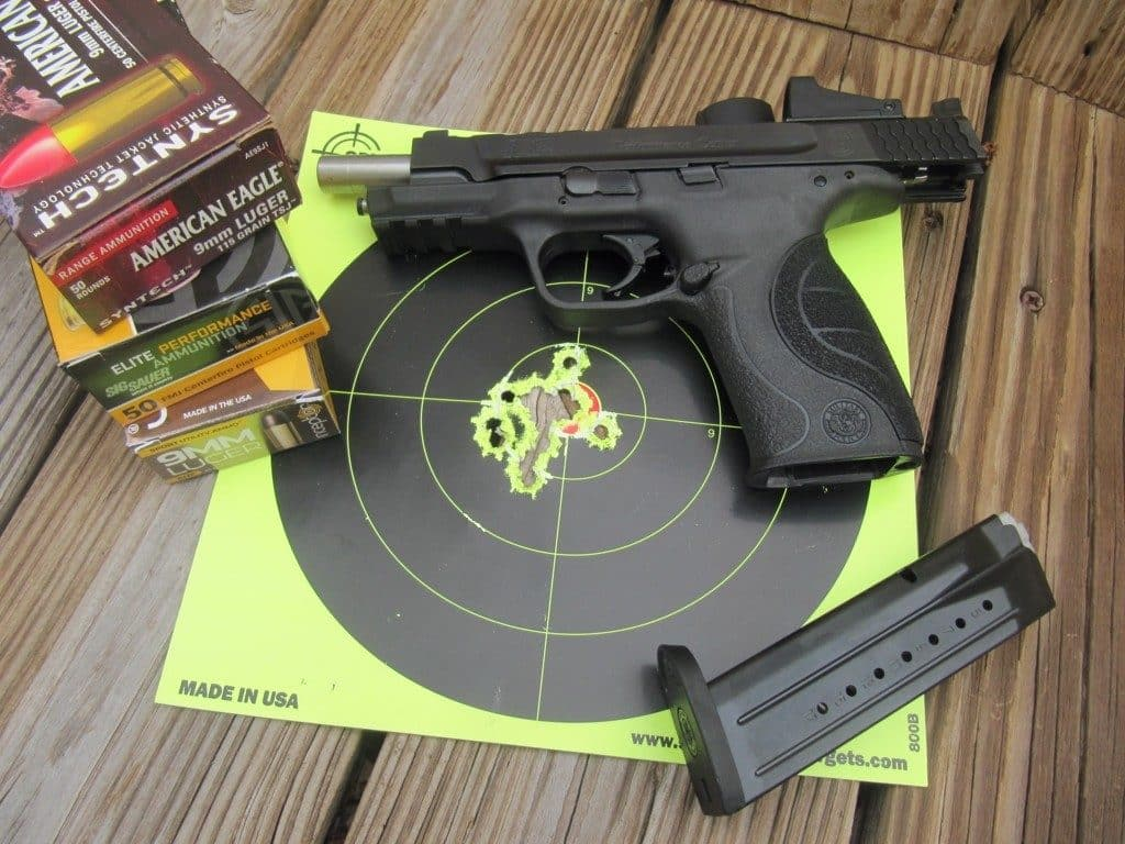SW &P 9l SMS-Target Hits
