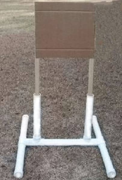Shooting Target Stands >> Diy Portable Target Stand For Shooting Usa Carry