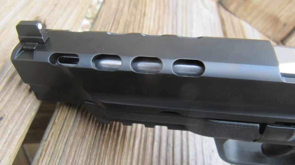 SW M&P 9l SMS with PORTS