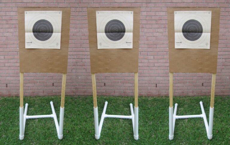 DIY Portable Target Stand for Shooting