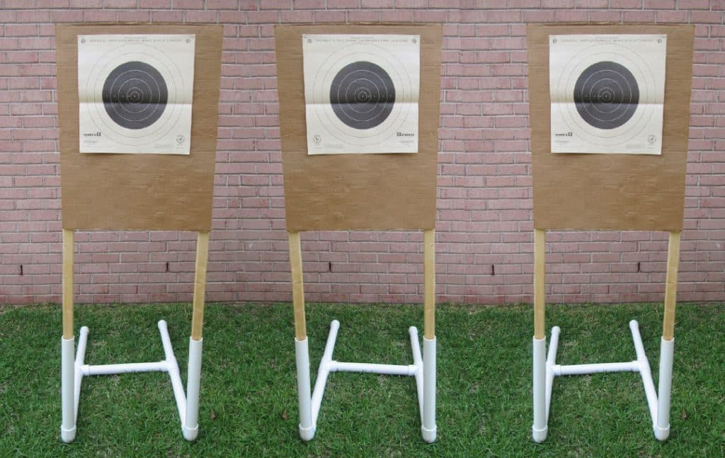 Diy Portable Target Stand For Shooting Usa Carry