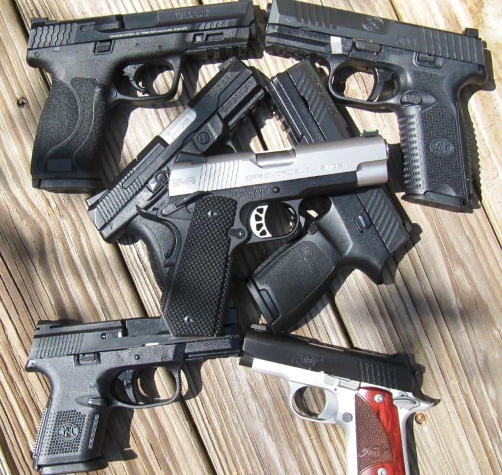 12 New Handguns for 2017