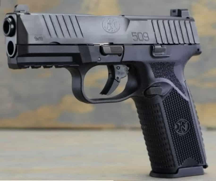 FN 509 Striker-Fired DAO 9mm Pistol