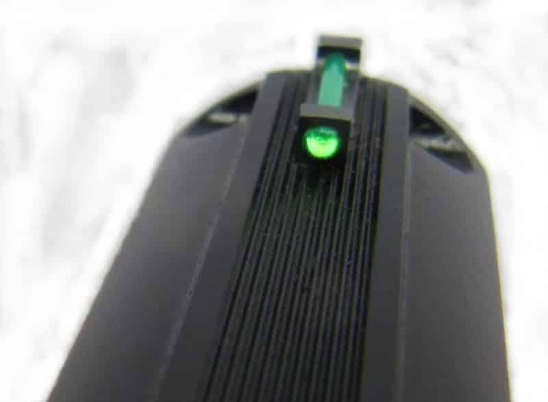 CZ 75 B SA- Fiber Optic Front Sight Option