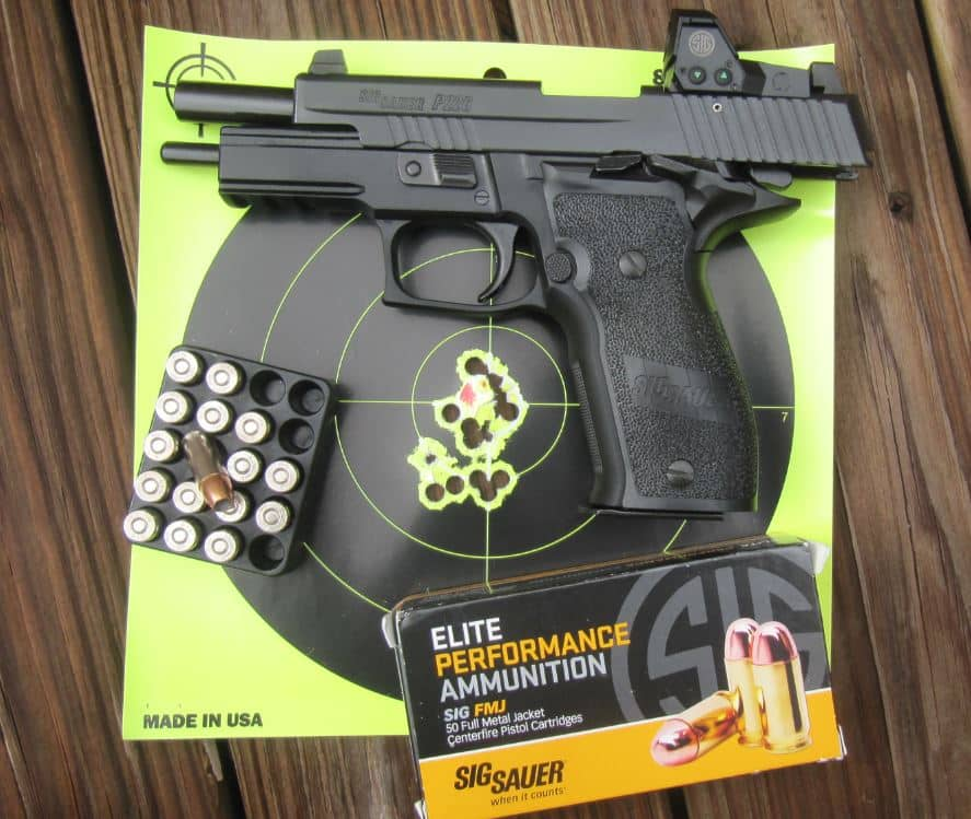 Sig Sauer P226 RX Elite SAO 9mm with Mini Red Dot [FIREARM