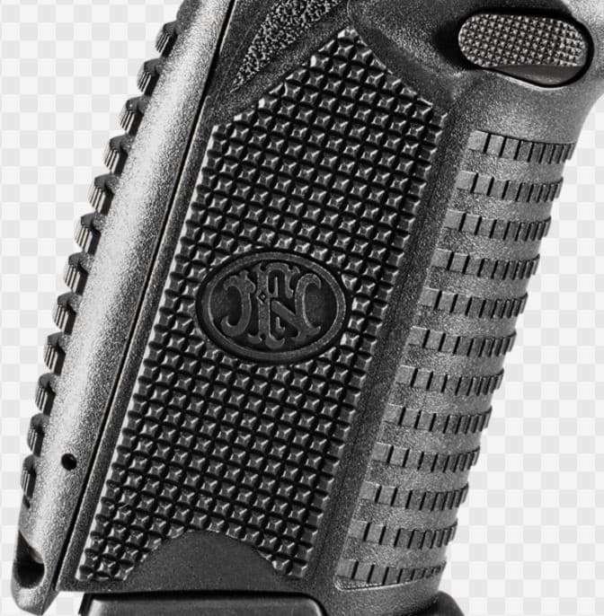 FN 509 has 3 Types of Aggressive Textures for Solid & Comfortable Grip Surfaces