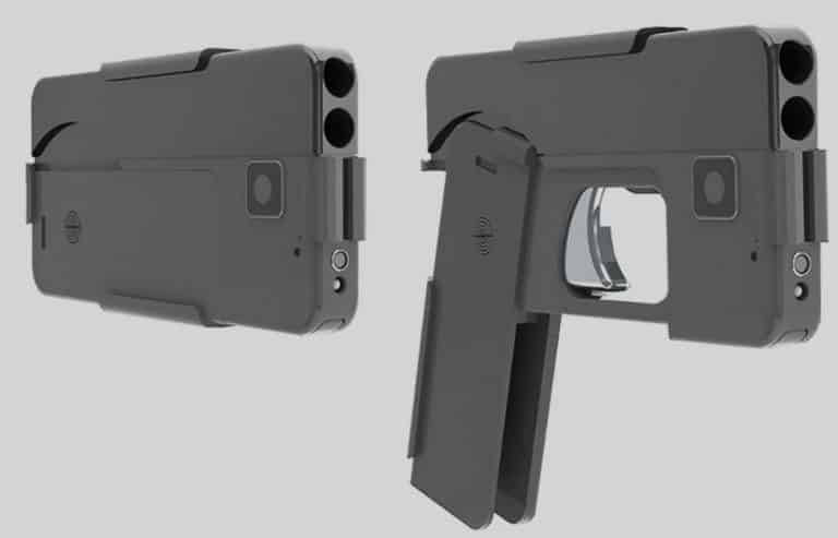 Radically-Designed New Concealed Carry .380 Cellphone Pistol