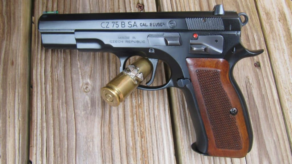 CZ 75 B SA 9mm [FIREARM REVIEW] - USA Carry