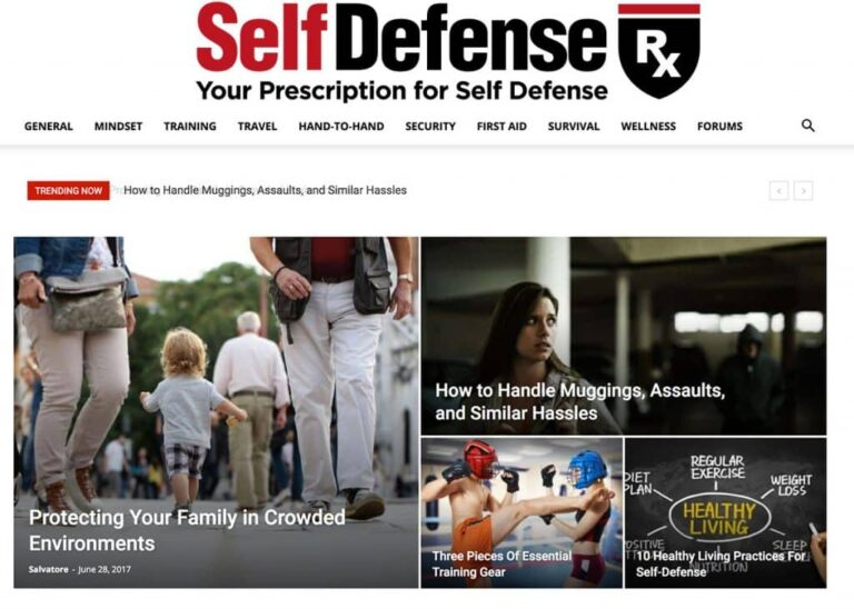 New Website Offers Dynamic Approach to Self-Defense