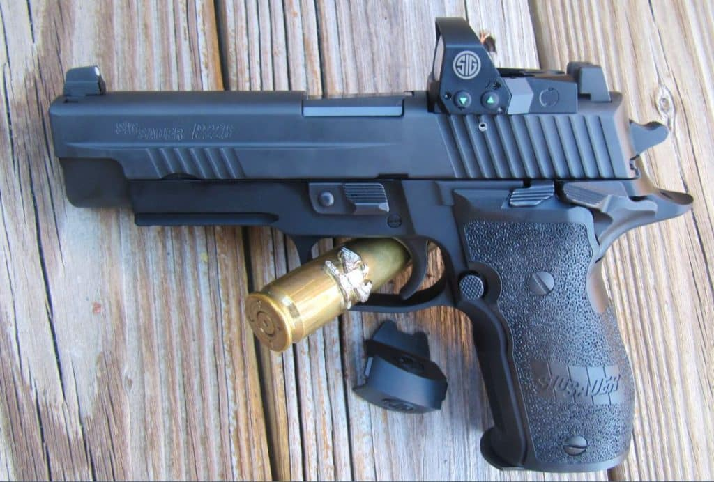 Sig Sauer P226 RX Elite SAO 9mm with Mini Red Dot [FIREARM REVIEW]