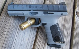 Beretta APX- Changed to Grey Frame-Black Backstrap