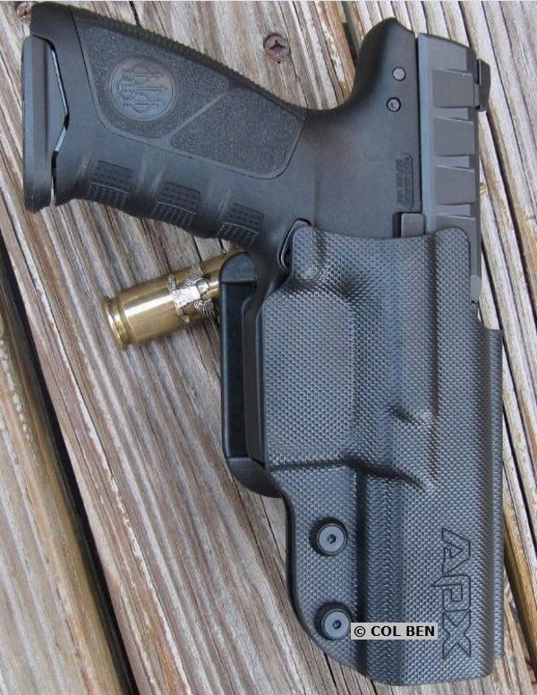 Beretta APX 9mm in Beretta Belt Holster