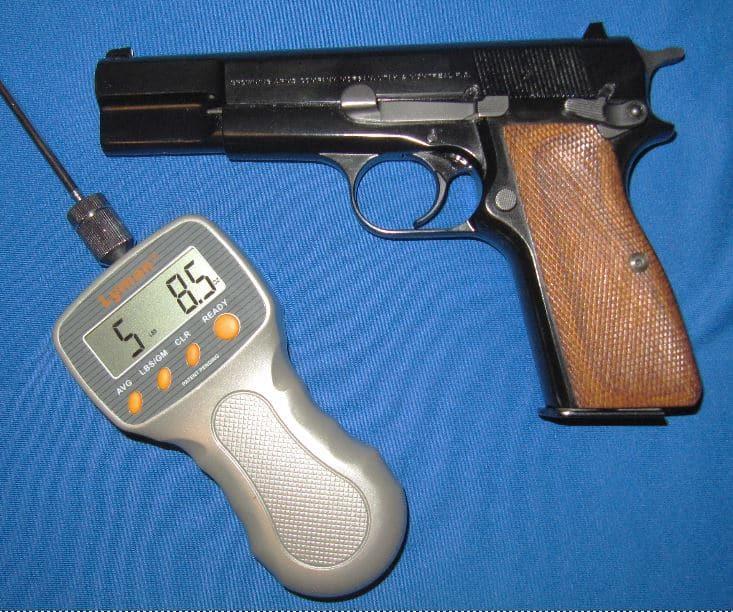 Browning Hi Power Trigger Press