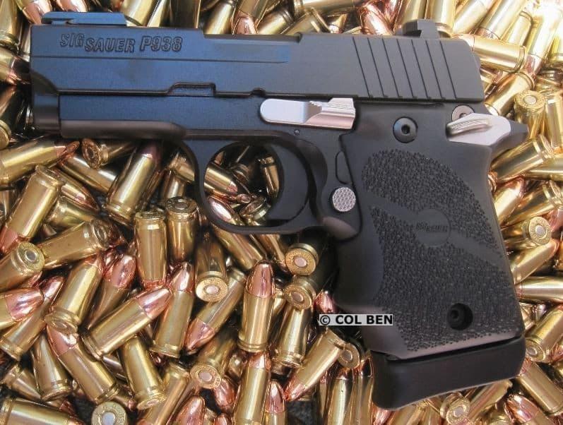 Sig Sauer P938 Sub-Compact Sports 13 9mm
