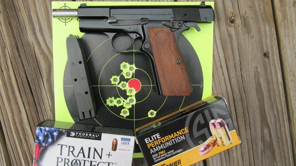 Browning Hi Power - 12 Rapid Fire Hits at 7 Yards