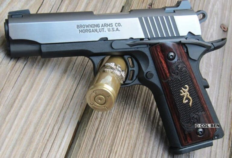 A Low-Recoil Compact .380 Pistol for Carry – The Browning 1911-380 [FIREARM REVIEW]