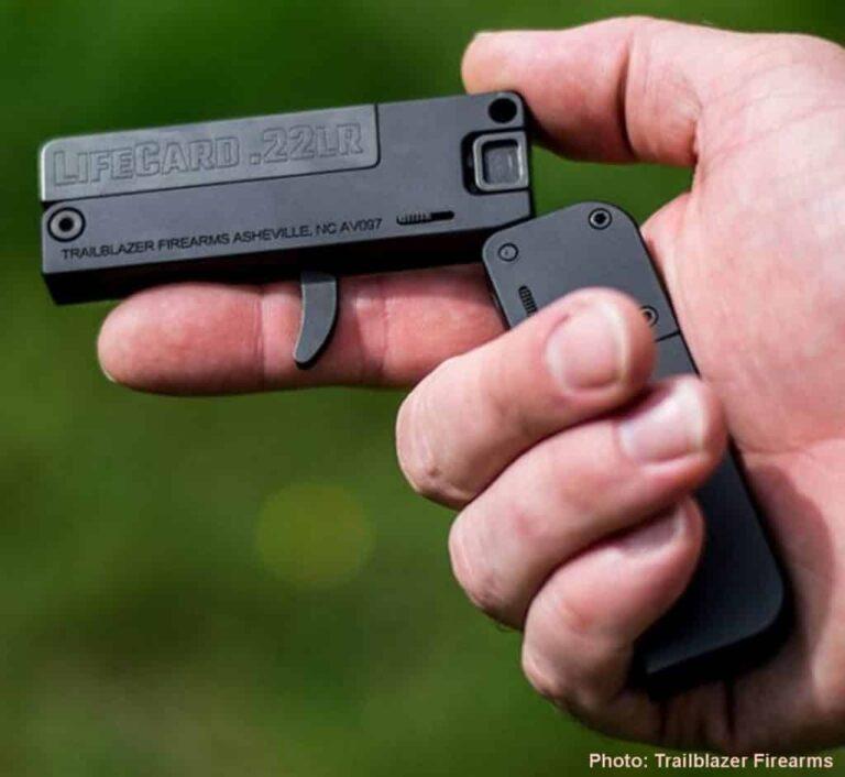 Credit Card-Sized Fun .22LR Plinker Pistol
