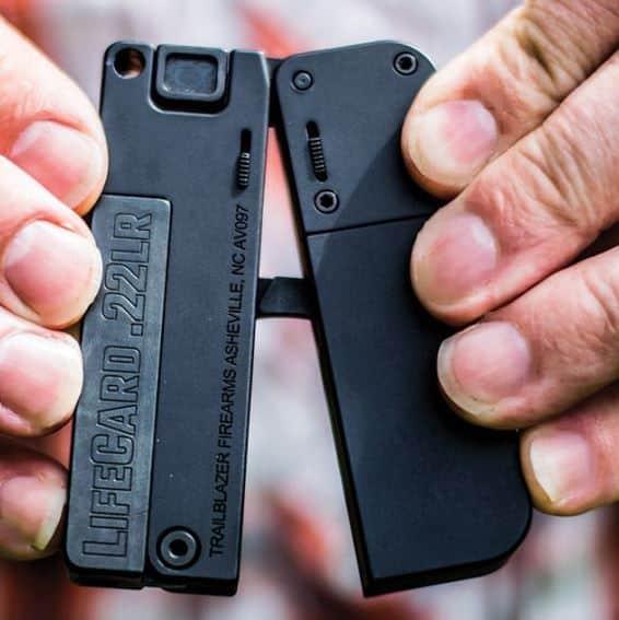 Trailblazer LifeCard .22LR Pistol- FOLDED-Credit Card Size