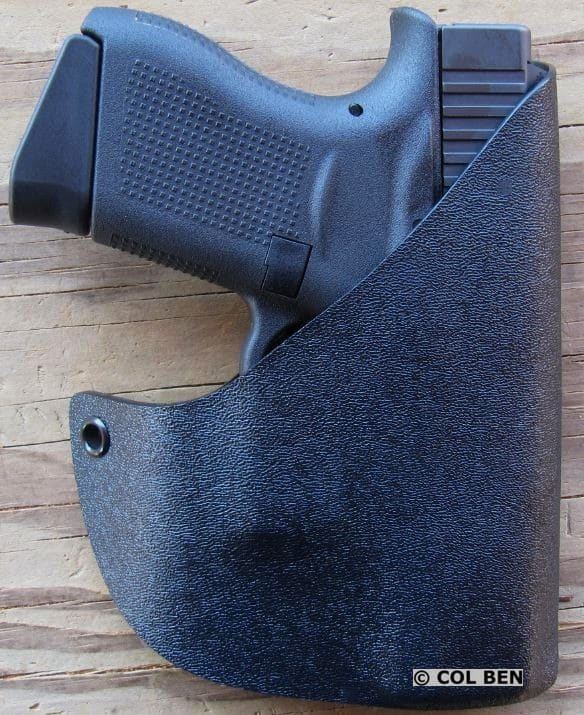 Alabama Holster Kydex Pocket Holster with Glock 43