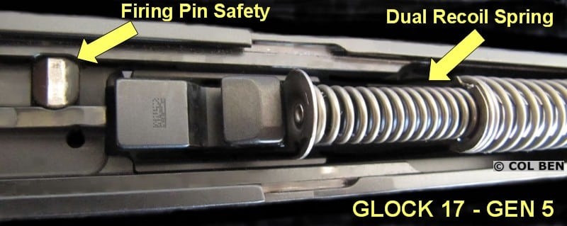 G17 Gen 5- Firing Pin Safety Modified-Dual Recoil Spring