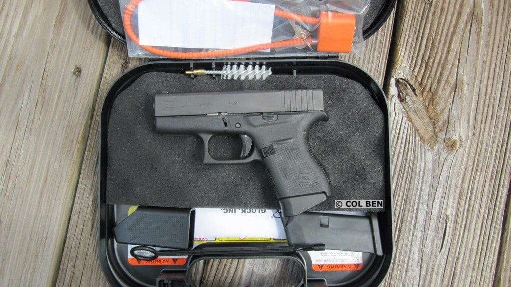 G43 in Hard Case with 2 Mags, Lock, Loader, Brush, Rod, Instruction Manual