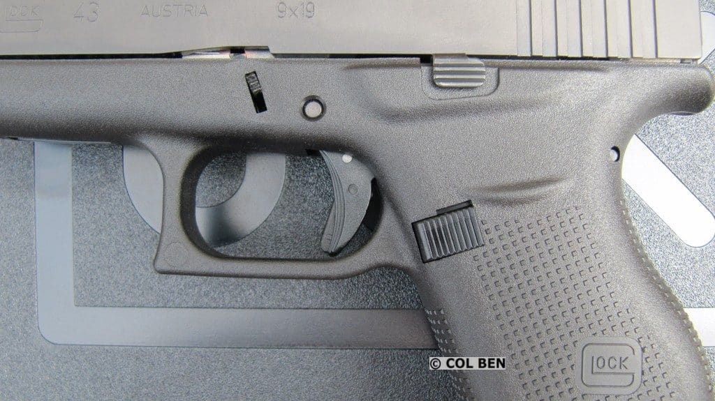 G43 with Enlarged Mag Release, Beavertail, Grip Texture, & Trigger