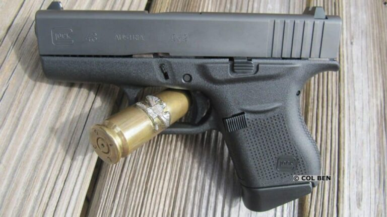 Glock 43 with XS Big Dot Night Sights Review