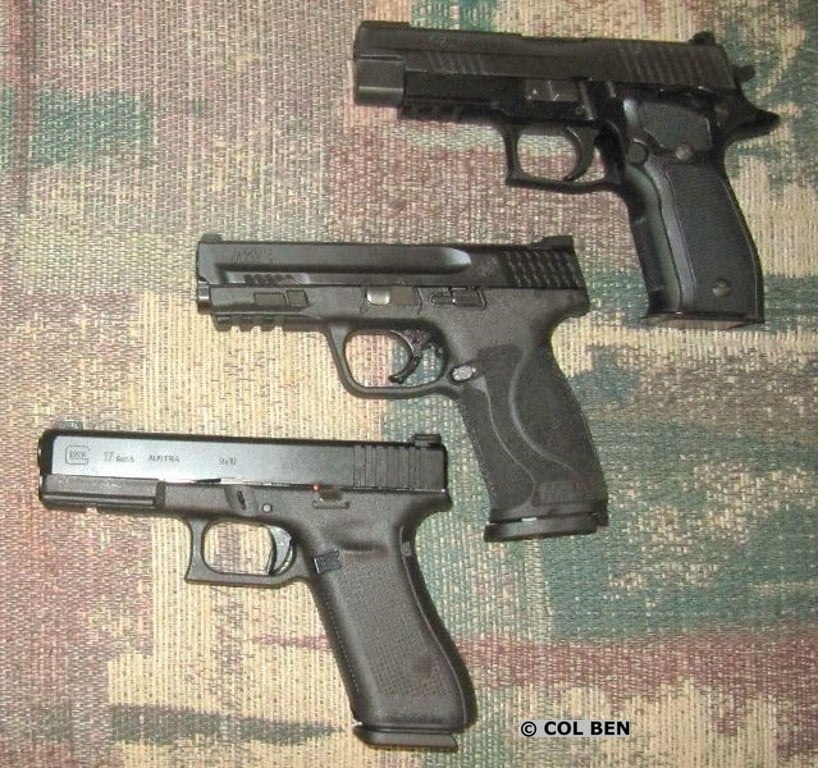ETS C.A.M. Pistol Loader Worked Consistently with these Guns: Glock 17, M&P 9mm, & Sig Sauer P226