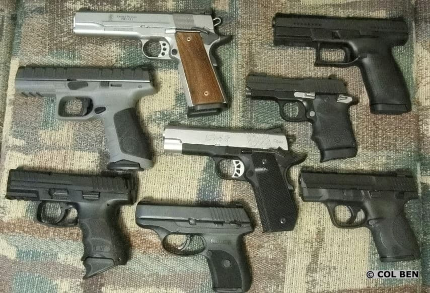 Sometimes 9mm Loader Fail: H&K VP9SK, Beretta APX, S&W Shield, Sig 938, Springfield EMP 4 Contour, Ruger LC9S, CZ P10C, and S&W 1911 9mm.