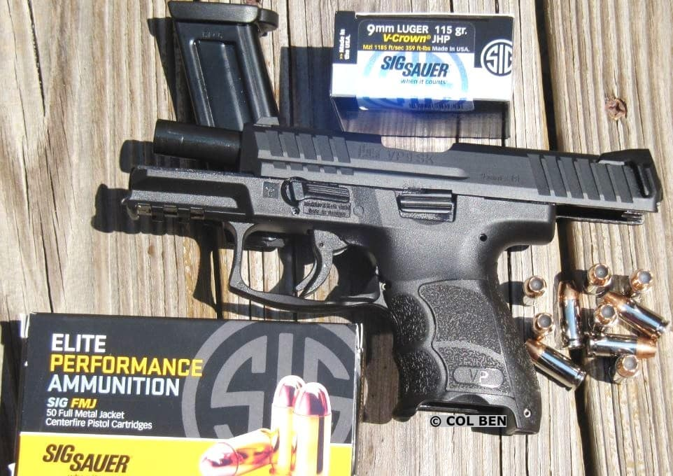 H&K VP9 SK with Sig Ammo