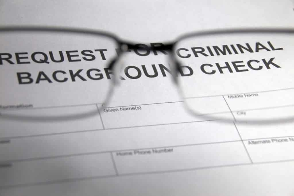 Criminal Background Check-- source-fbi.gov
