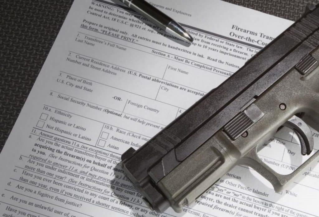federal state background checks for firearms issues and ideas