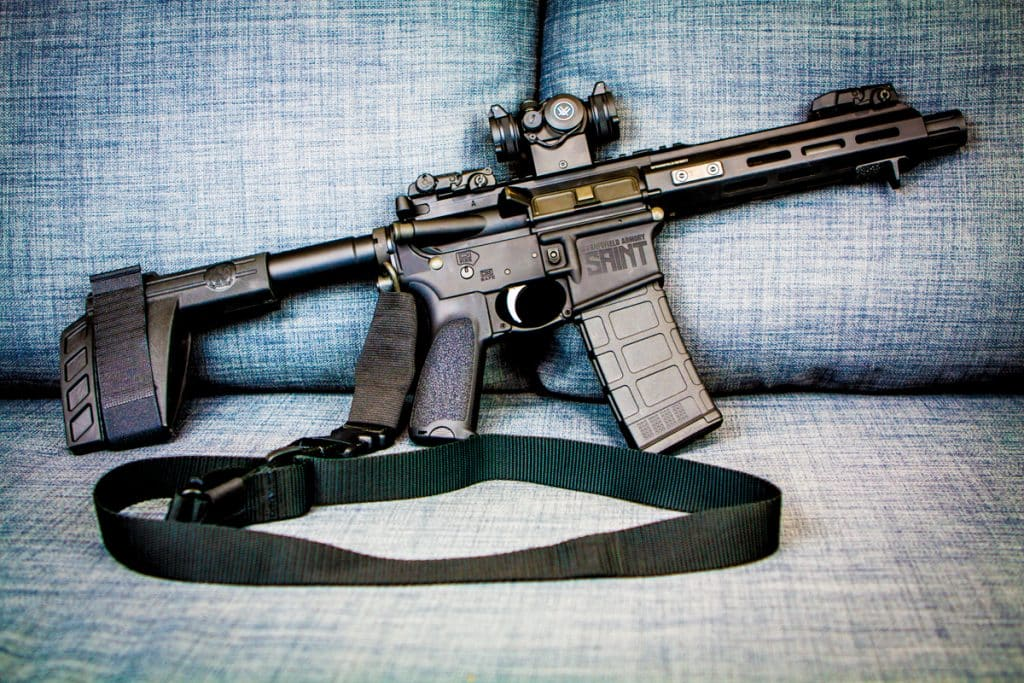 Springfield Armory SAINT AR-15 Pistol Review