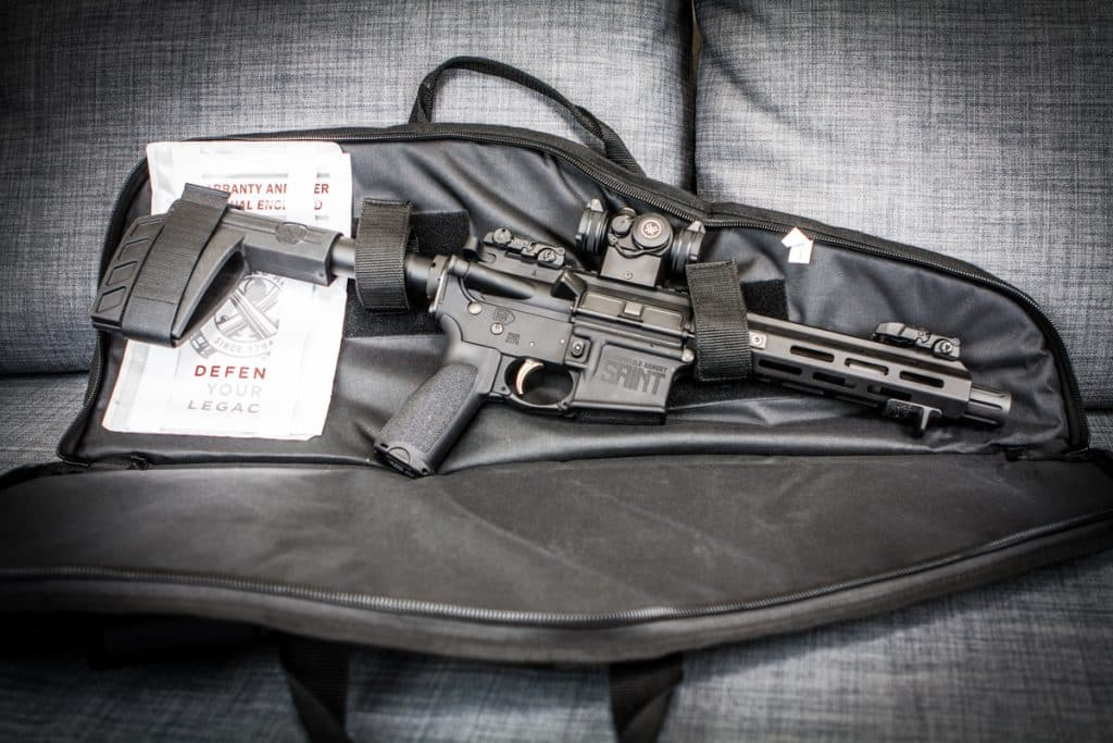 SAINT AR-15 Pistol Bag